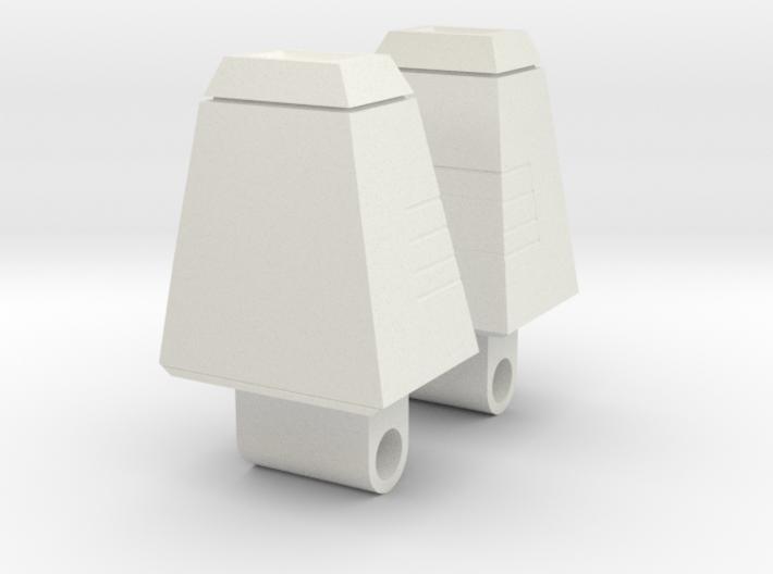 Galvatron Shoulder Pylons 3d printed