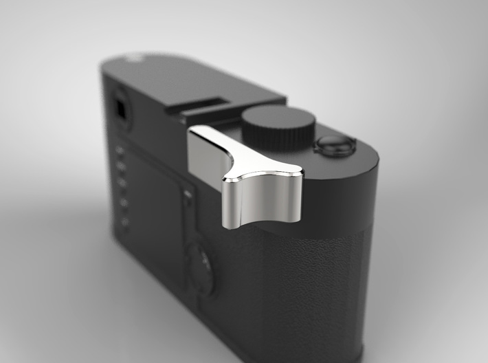 Leica M Camera Thumb Grip 3d printed