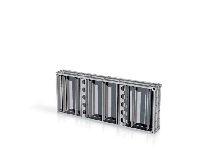 2x 20 Ft Plattform Container mix 3d printed