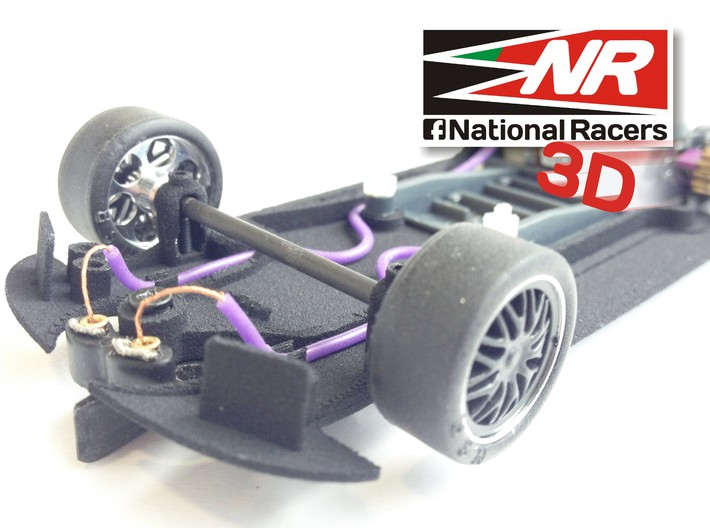 3D chassis for Fly 320i/M3 GTR (Combo)  3d printed