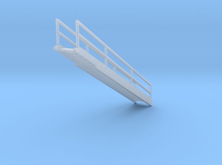 'N Scale' - 48 Ft. Dia. Bin - Top Stairway 3d printed
