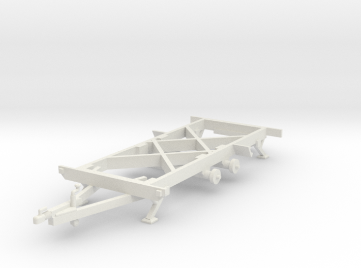 1:50 Chassis Tandem As 3d printed