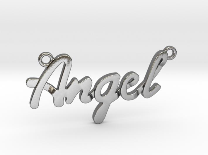 Angel Pendant 3d printed