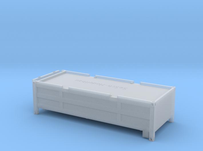 """20 ft """"Half Height"""" Container mit klappbarem Decke 3d printed"""
