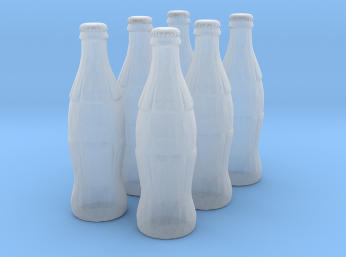 1/18 scale Cola bottles 3d printed