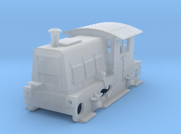 N SIK NS 200-300 locomotor met koperen schoorsteen 3d printed