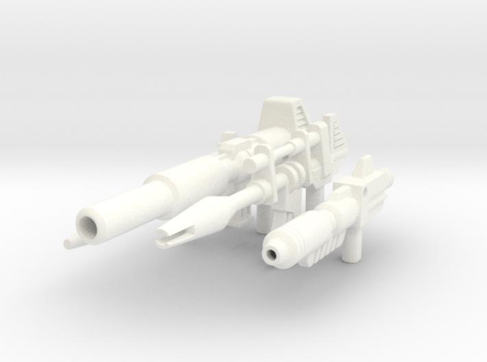 TF Guns Set-02 (4 Rifles) 3d printed