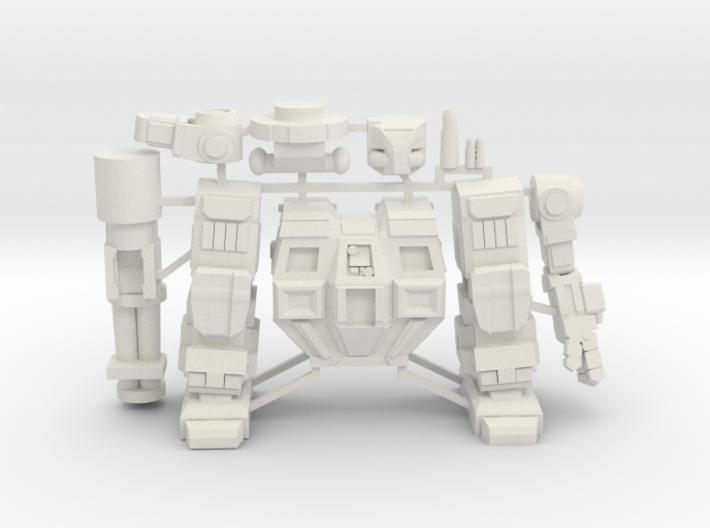Goliath on Sprue 3d printed