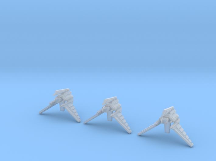(Armada) 3x Theta Shuttle 3d printed