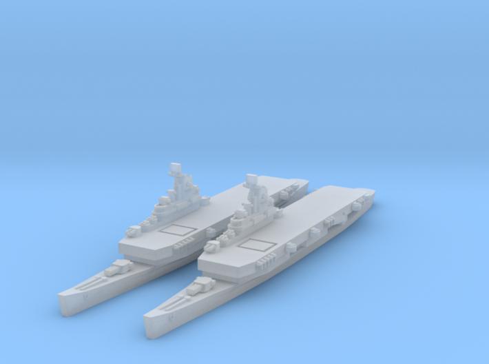 USN Flying Deck Cruiser 3d printed