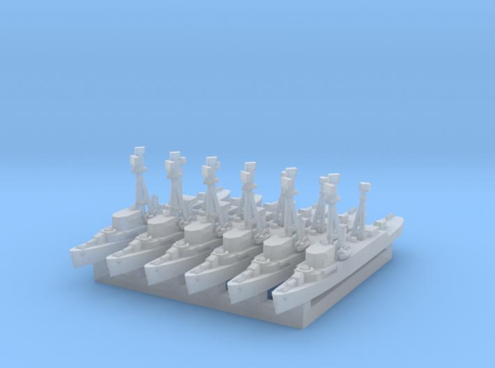 1/2400 DER x6 (FUD) 3d printed