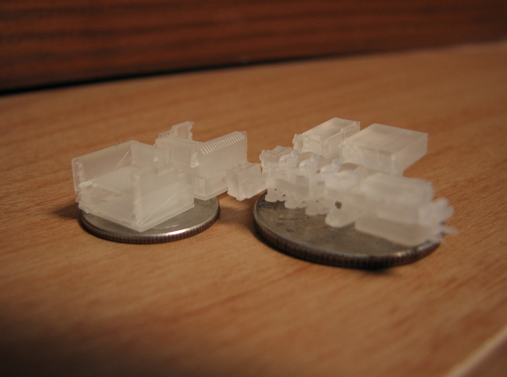 1/35 and 1/16 SINCGARS Radio Set MSP35-025 3d printed Picture by Daniel A