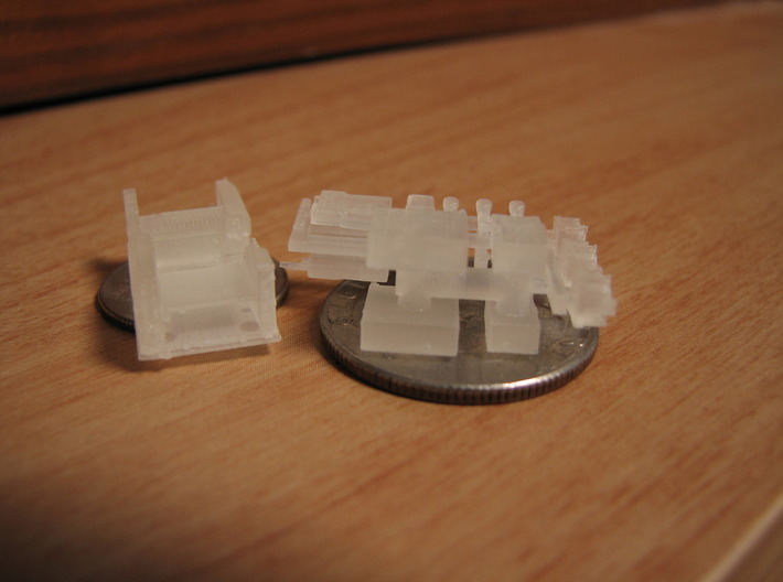 1/35 and 1/16 SINCGARS Radio Set MSP35-025 3d printed Picture by Daniel A.