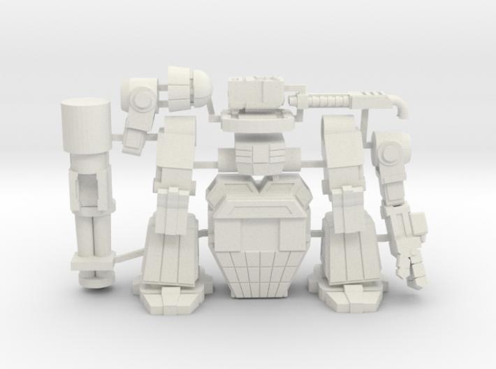 Behemoth on sprue 3d printed