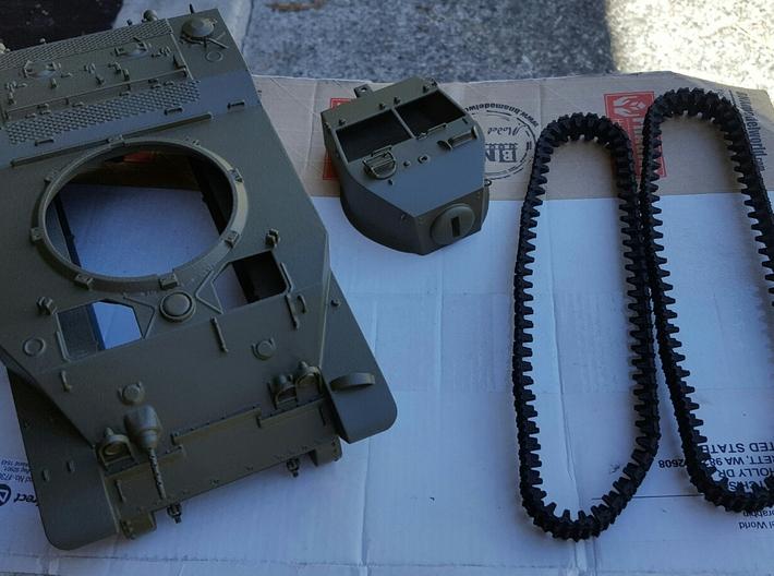 1:16 USA M5A1 Body 3d printed