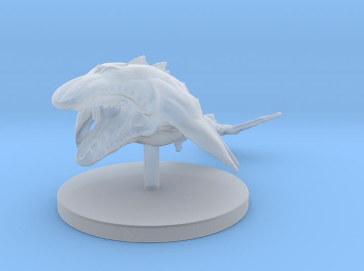 1 Inch Mega Whale 3d printed