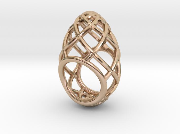 Ovo Ring 53-61 3d printed