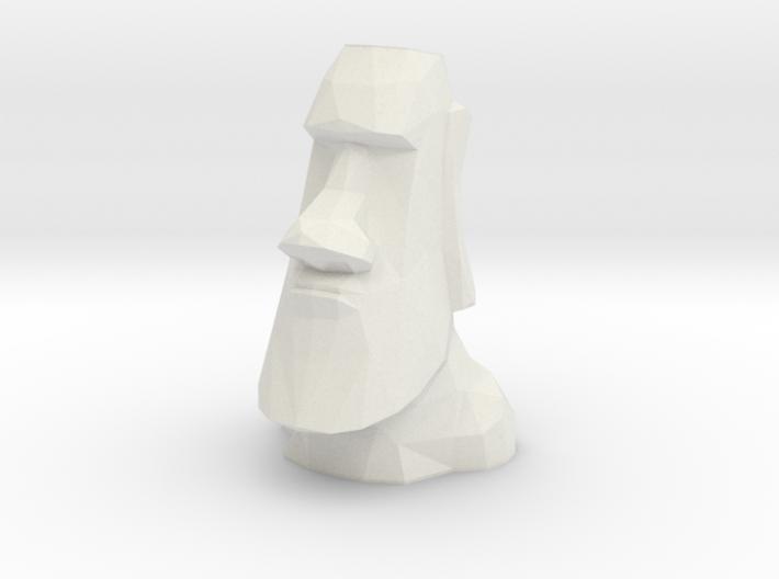 Moai Single Flower Vase 3d printed