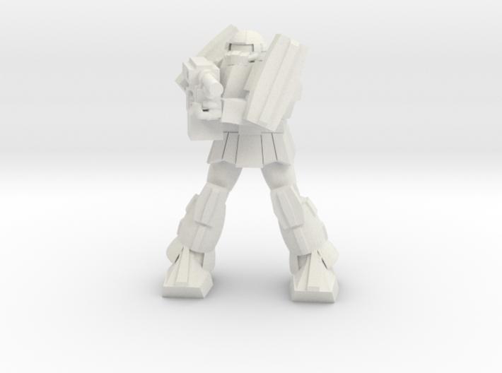 'Pug' A1A - Pugnator pose 3 3d printed