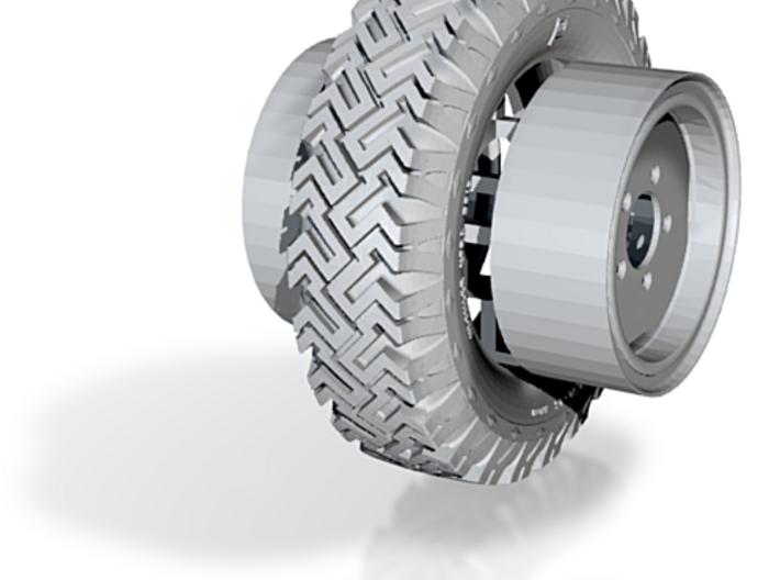 1/16th Wheels for Australian LRPV 3d printed
