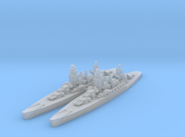Andria Doria Battleship 3d printed