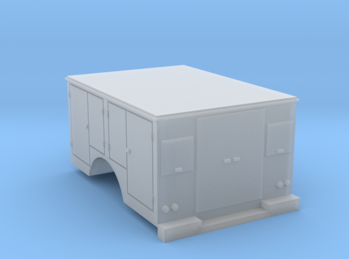 Tool Box Truck Bed 1-87 HO Scale 3d printed