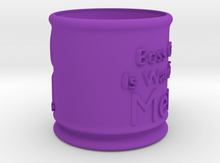 Boss Cat Mug 3d printed