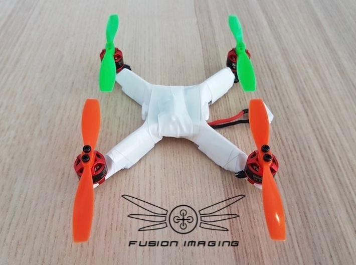Fusion Micro ACRO Frame 114 3d printed Fusion Micro ACRO Frame 114 (Frame Only)
