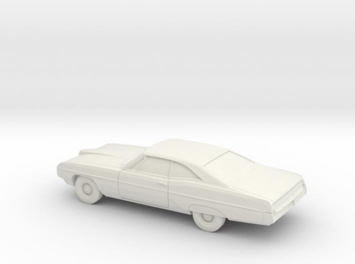 1/87 1968 Pontiac Bonneville Coupe 3d printed