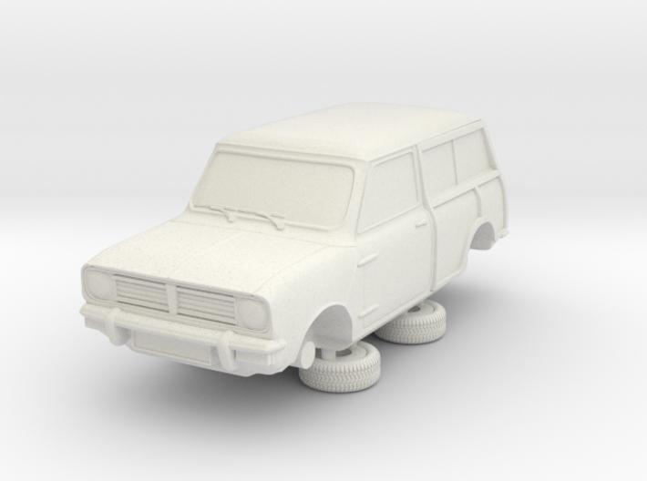 1-76 Austin Mini 74 Estate Clubman 3d printed