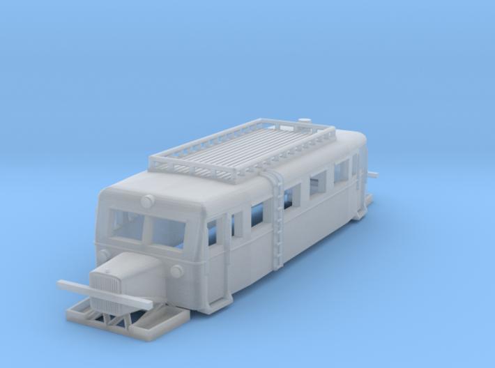 Wismarer Schienenbus, Typ A (Z,1:220) 3d printed