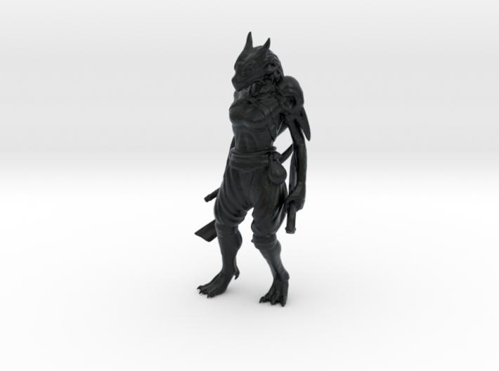 Dragonborn Rogue 3d printed
