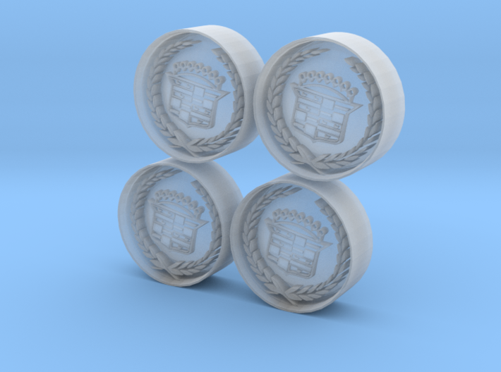 Caddilac Wheel 3d printed