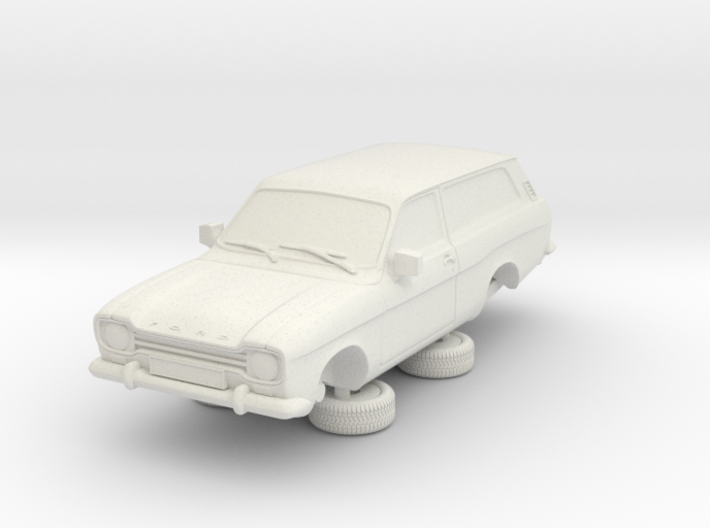 1-64 Escort Mk 1 2 Door Estate 3d printed