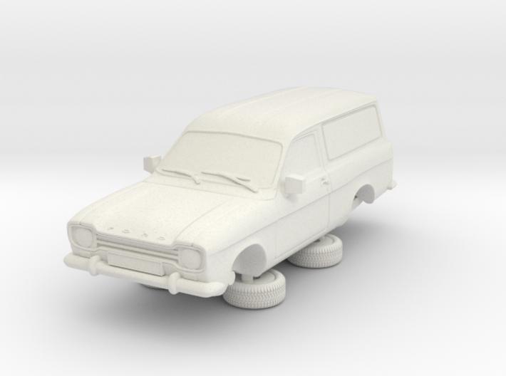 1-64 Escort Mk 1 2 Door Van 3d printed