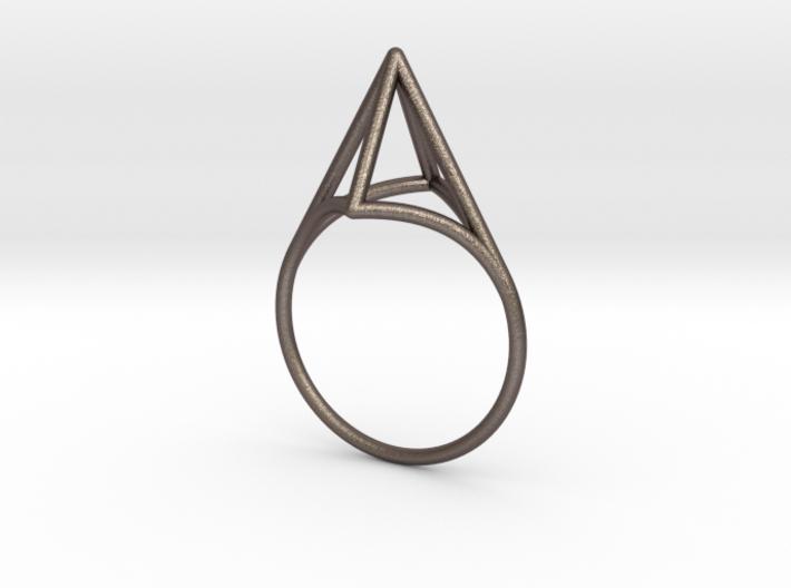 Strukt Ring 3d printed