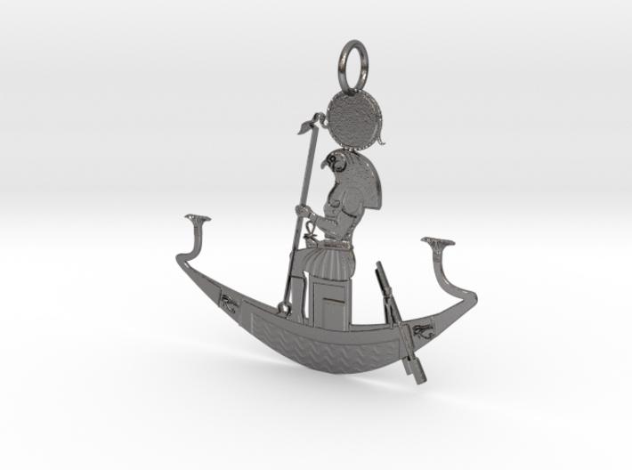 Star Ship Medallion 3d printed