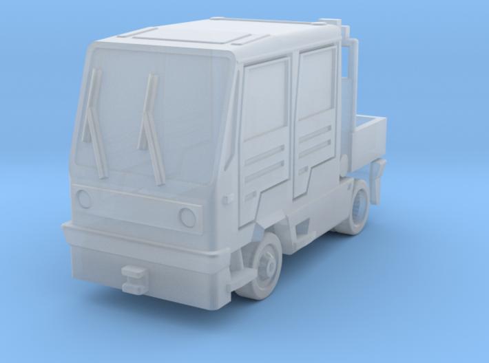 Multicar - Flugplatzschlepper (1:200) 3d printed