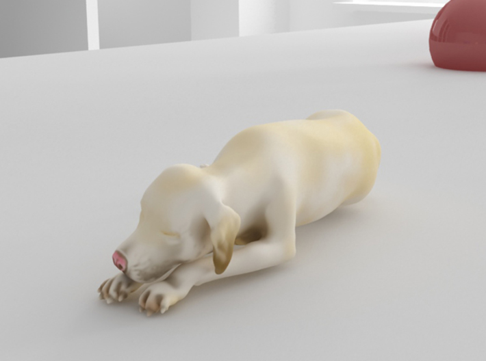Sleeping Dog - Labrador Small 3d printed