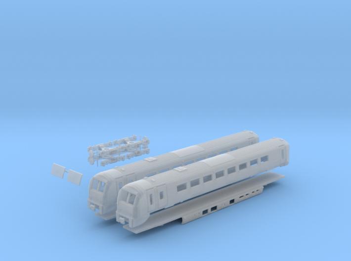 Class 175 N Gauge 3d printed