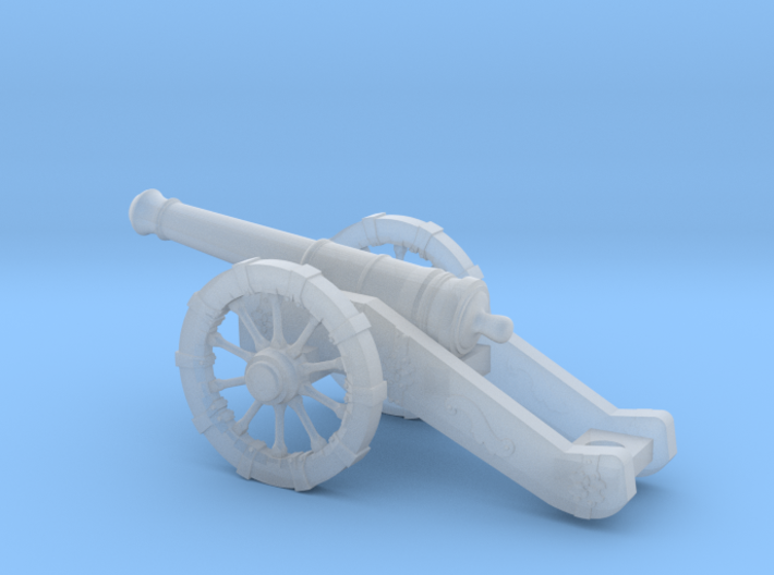 Cannon 3d printed
