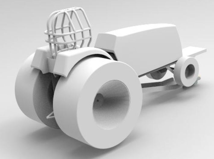 super stock pulling tractor fender 3d printed