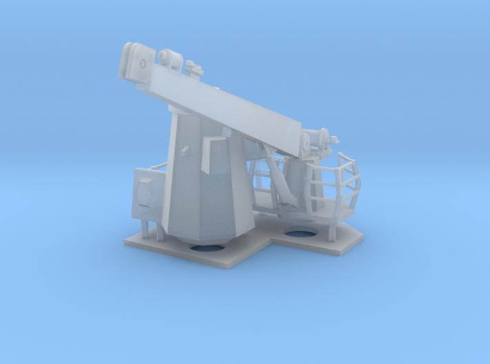 1/96 scale Navy Crane modern 3d printed