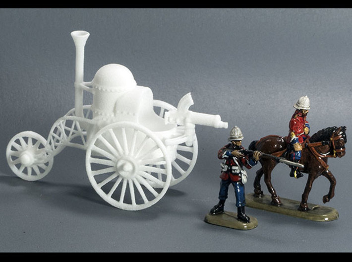 Battle Tricycle 3d printed 20mm plastic Colonial British figures by HaT