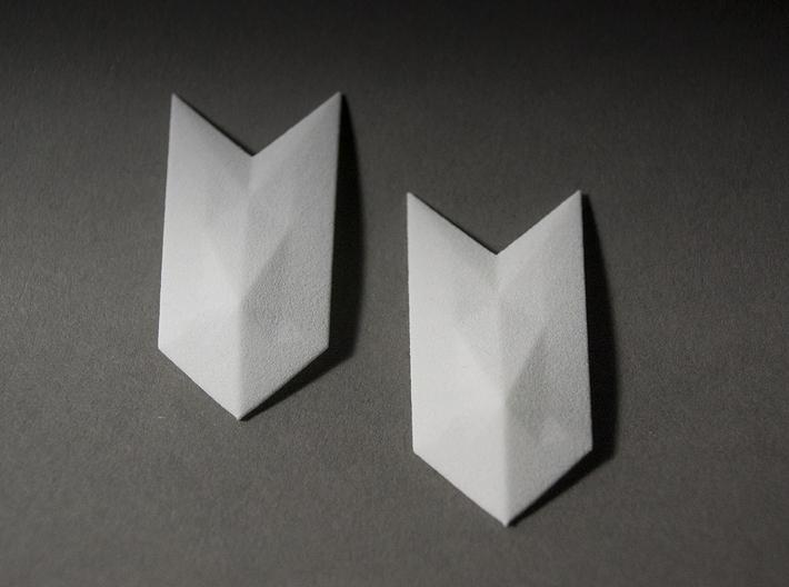 Pluto Earrings 3d printed
