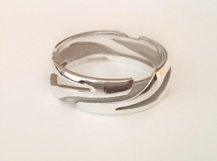 Bague-Ring Xéno 3d printed