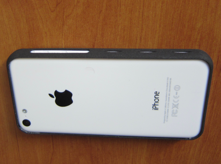iPhone 5 C Bumper light 3d printed