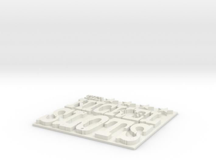 Nickel slots base 3d printed