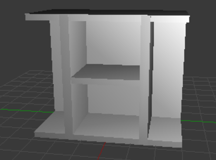 TV Stand 1 3d printed Texture