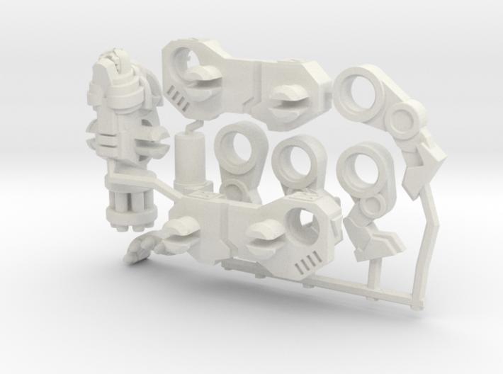 Catling Gun (Lion/Tiger) Transforming Weaponoid  3d printed